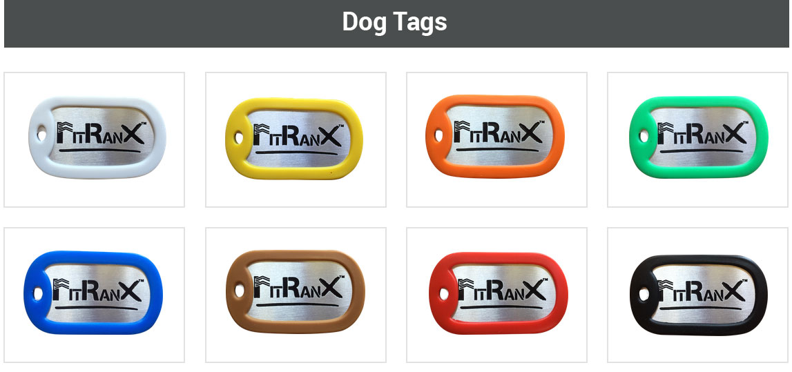 FitRanX Dog Tags
