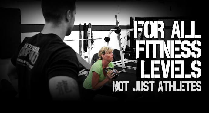 FitRanX for all fitness levels