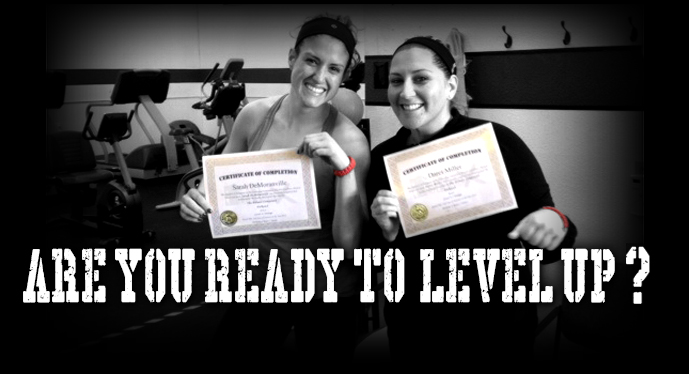 ARE YOU READY TO LEVEL UP?
