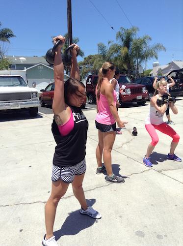 challenge workout