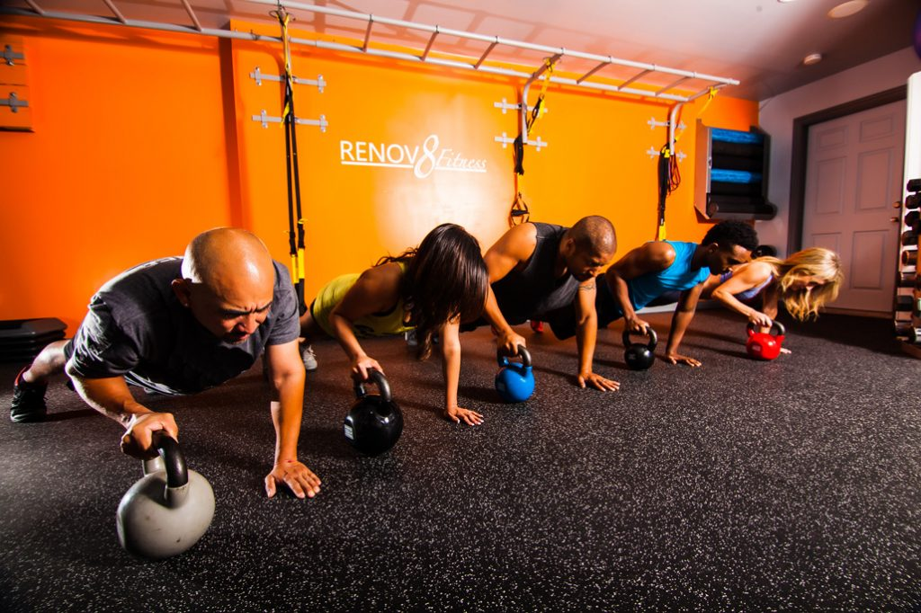 We love Kettlebells at Renov8!