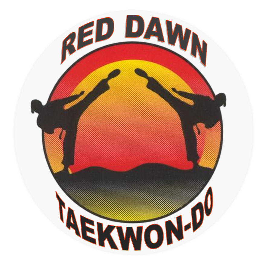 red dawn taekwondo logo.png